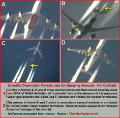 """Chemtrails are not a conspiracy theory...and they are not just """"spraying to combat global warming""""!"""