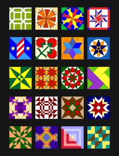 more barn quilt designs