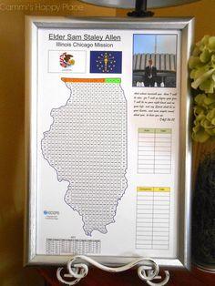 mormon missionary countdown calendar | Found on cammishappyplace.blogspot.com