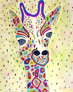 whimsical animals by Valerie Lorimer