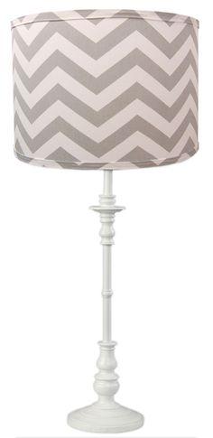 Cute chevron lamp sh
