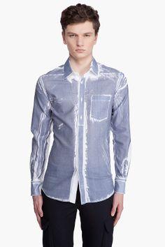 printed shirt  alexander mcqueen