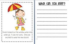 Babbling Abby: Inferencing Activity {First Grade}