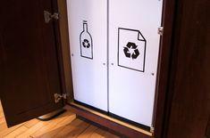 How To: DIY Pantry Recycling Center Makeover » Man Made DIY | Crafts for Men « Keywords: plastic, hardware, diy, true-value