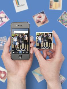 This website turns your Instagrams into cute little magnets!//