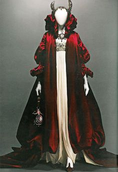 Alexander McQueen... inspired by my favorite wicked step-mother, perhaps?