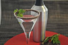 Girls' Weekend Chocolate Martinis. Sinfully delicious!