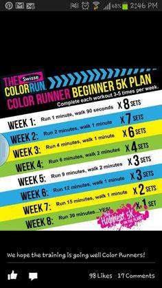 5k training plan