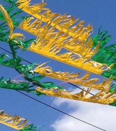 """Fawkner car yard flags""  By Katrina Withycombe"