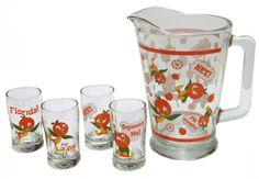 Orange Bird juice set!