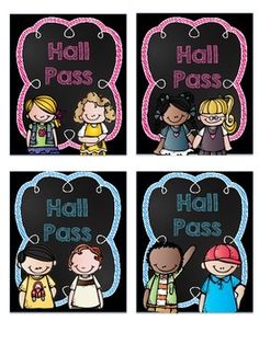 HALL PASSES- FREEBIE - TeachersPayTeachers.com