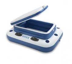 Intex Mega Chill II Floating Pool Cooler with Cup Holders pool cooler, pool parti, float pool