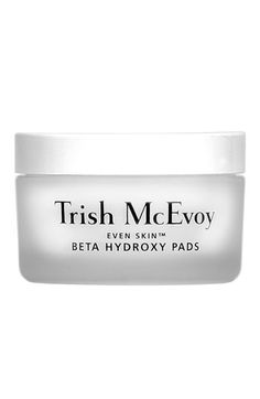 I've been using these for years. Quite possibly my all-time favorite exfoliator. Super easy to use, gently, and highly-effective. Trish McEvoy 'Even Skin' Beta Hydroxy Pads #Nordstrom #TrishMcEvoy