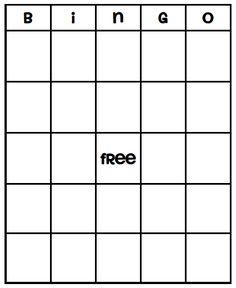 card templates, game, bingo template, bingo card template, parti