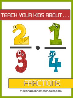 Teach your kids about ... Fractions