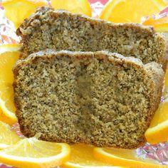 Orange Poppy Seed Bread   Made Just Right by Earth Balance #vegan #Plantbased #earthbalance #recipe