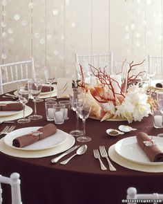 Seascape Centerpieces