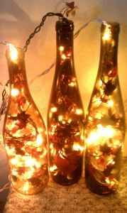 Reuse wine bottles