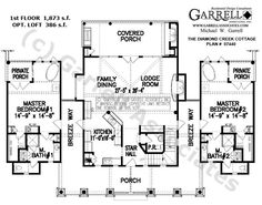 Floor Plans On Pinterest Home Plans House Plans And
