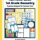 These+8+games+have+everything+you+need+for+teaching+CCSS-aligned+first+grade+geometry+for+only+$1+each!+There+are+games+for+each+geometry+Common+Co...
