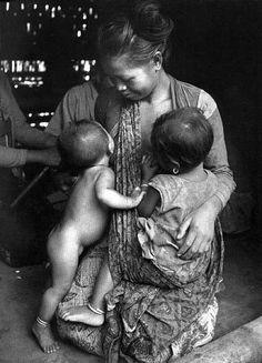 Tandem nursing mama. <3 #breastfeeding