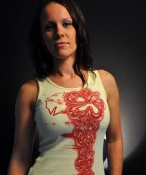 FINALLY!  Firefighting tanks and tees for women!