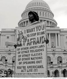 you're-americans-act-like-it. We need to remember we are one.