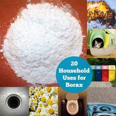 20 Amazing & Unique Household Uses for Borax