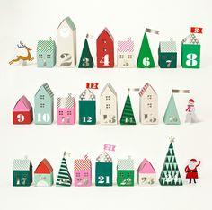 advent village | Design Life Kids
