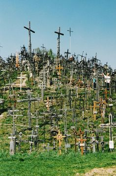 The Hill of Crosses ... Lithuania