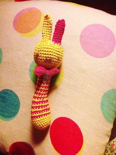 Nina! A Bunny for the Baby - FREE pattern | La Belette Rose