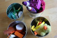 Colour sorting activity