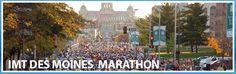 IMT Des Moines Marathon--Iowa--October 2014