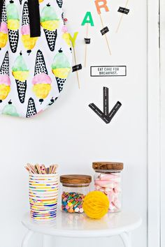A fun way to keep treats and treasures