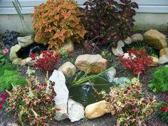 outdoor craft, child crafts, fountain kit, pond