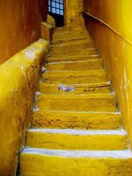 Mellow yellow stairs
