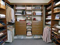 "Closet from ""Getting Organized: Master Bedroom Closet"""
