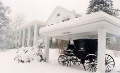 """The carriage at The Historic General Lewis Inn, historic Lewisburg, WV."""