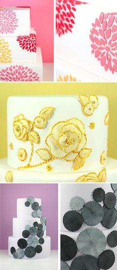 Top cake decorations..