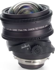 Schneider Optics S2000 Century Canon 17mm T4 Tilt-Focus Lens PL Mount