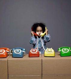 Russell Johnson vintage phones