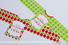 FREE Ugly Sweater Party Drink Labels