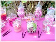 pink snacks for baby shower decorating ideas