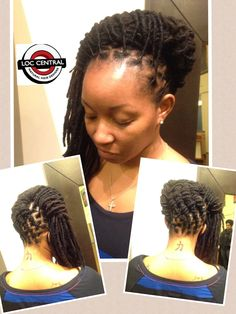 Hair styled by Loc Central...find us on Instagram and FB.