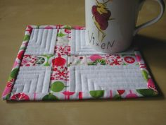 Quilted Mug Rugs Patterns