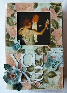 Altered art box by @Gloria Stengel! #graphic45 #altered #art #box #DIY