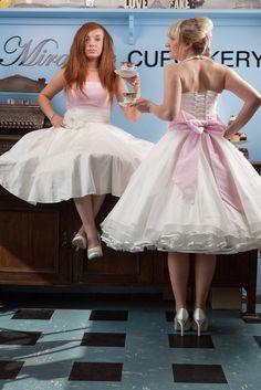 wedding dressses, beauti dress, vintage weddings, bridesmaid dresses, vintage wedding dresses, 1950s short