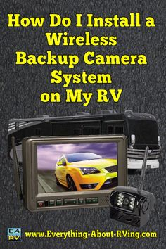 Here is our answer to: How Do I Install a Wireless Backup Camera on My RV?  One of the most important features of an RV wireless camera system is... Read More: http://www.everything-about-rving.com/how-do-i-install-a-wireless-backup-camera-on-my-rv.html Happy RVing! #rving #rv #camping #leisure #outdoors #rver #motorhome #travel