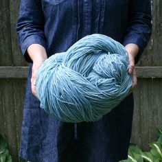 Empire Mega hand dyed hank 1280 yds Aran Weight