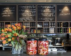 Shortgrain - Canteen and Shop by Ascender Design , via Behance